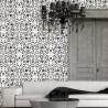 Wall Stencils Geometric Pattern Allover Stencil Monique for just like wallpaper