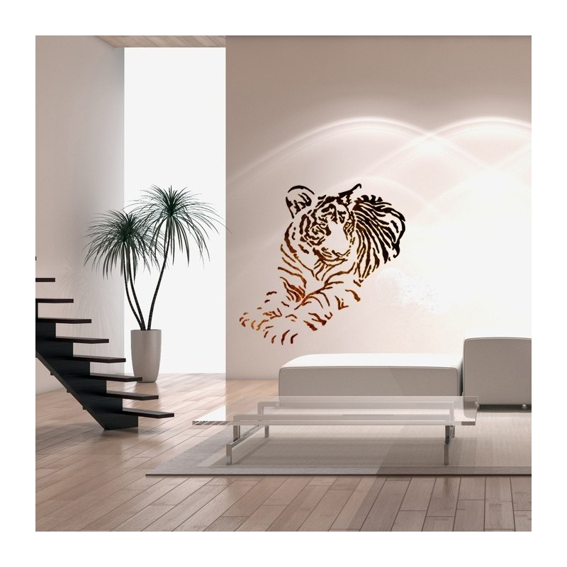 Wall Stencils For Diy Decor Rooms Kids Template Tiger