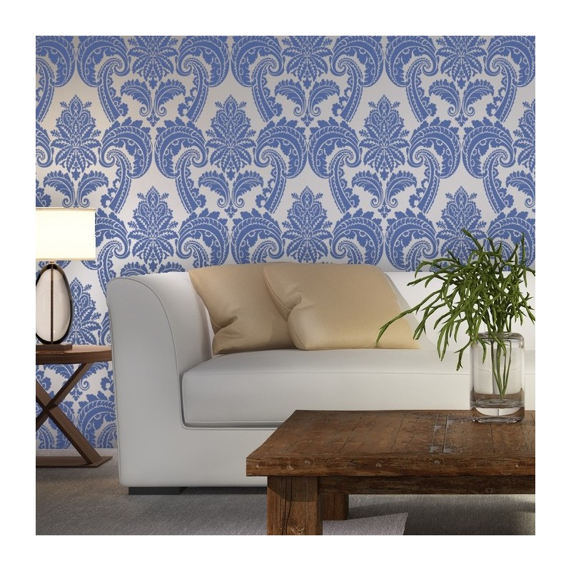 Wall Stencils Damask Stencil Mireille Allover Wallpaper Pattern for DIY decor