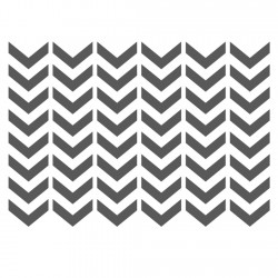 Craft stencils j boutique stencils royalwallskins for Chevron template for walls