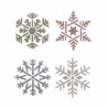 Snow Flower Stencils for Crafting Canvas Wall Art Decor Reusable Template