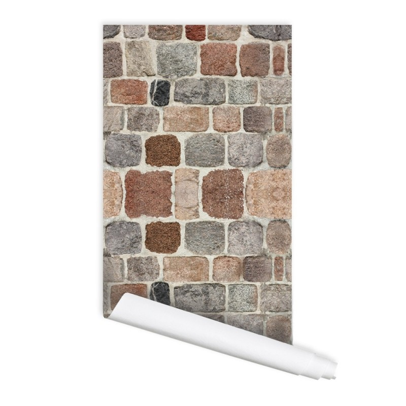 Stone Toscano Peel & Stick Repositionable Fabric Wallpaper