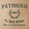 PATISSERIE Stencil for Painting Signs Crafting DIY Wall decor - Artistic stencil