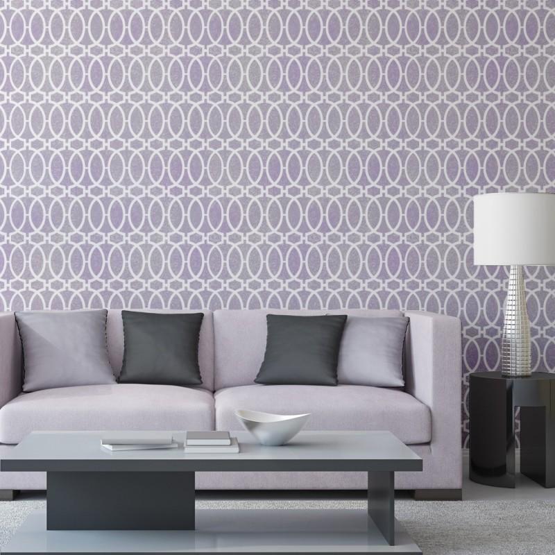 Wall Moroccan Stencil Trisha, Allover Template for DIY project Home Decor