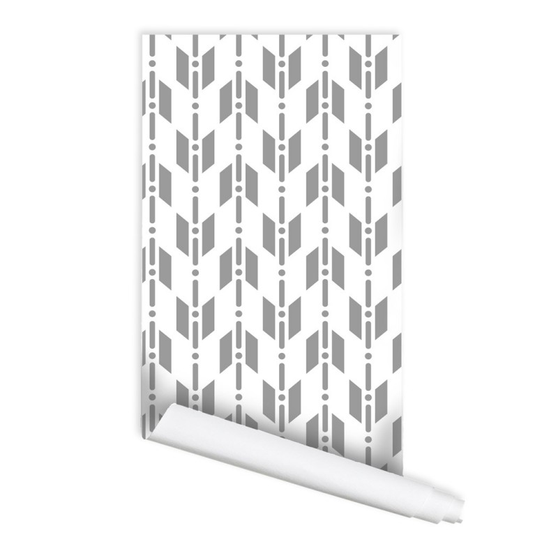 Geometric Dali Self adhesive Peel & Stick Repositionable Fabric Wallpaper