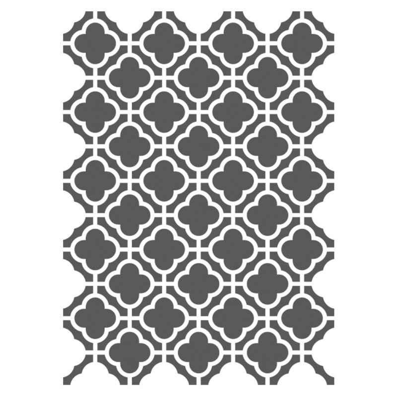 Moroccan Stencils Template -small scale- For Crafting Canvas DIY wall decor 9
