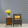 Wall Allover Stencils Marion for Wallpaper Look Furniture and Craft Stenciling