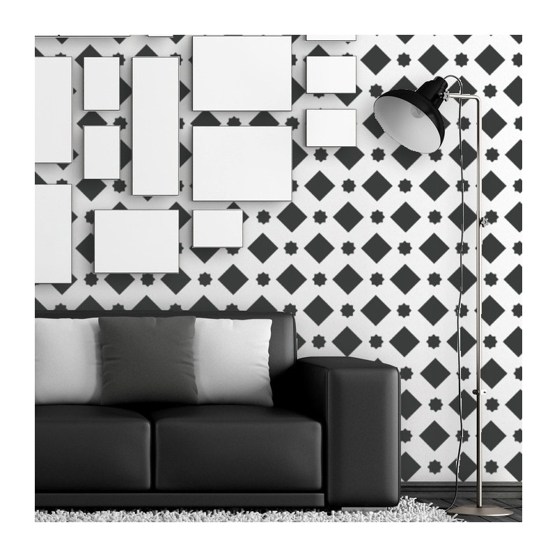 Wall Morrocan Pattern Stencil Large Fez Stencil for a Wallpaper Look Decor