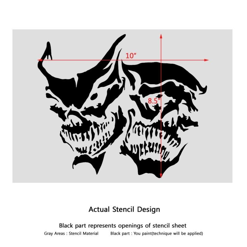 Custom stencil made for John