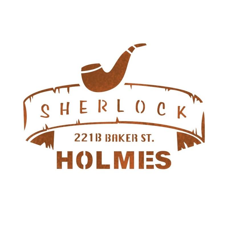Sherlock Holmes stencil template for Airbrush Stencils DIY home decor crafts