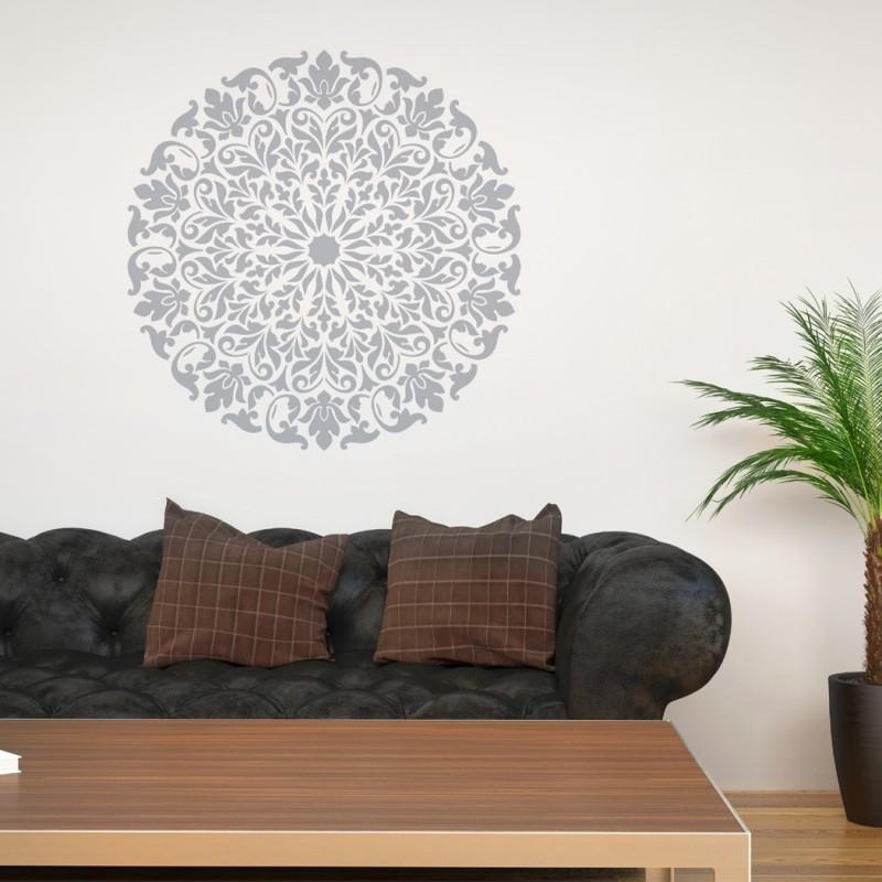 Mandala Stencil Tribal Pattern Surat For Diy Wall Decor Modern Home Decorative Stencils