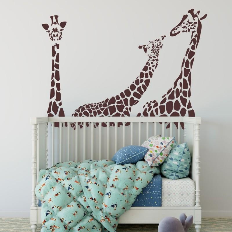 Giraffe Wall Decal, Vinyl Wall Stickers for Modern Wall design for Home Decor