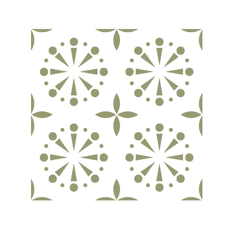 Wall Moroccan Reusable Tile Stencil T0057 for DIY Wall Decor Furniture Floor Craft