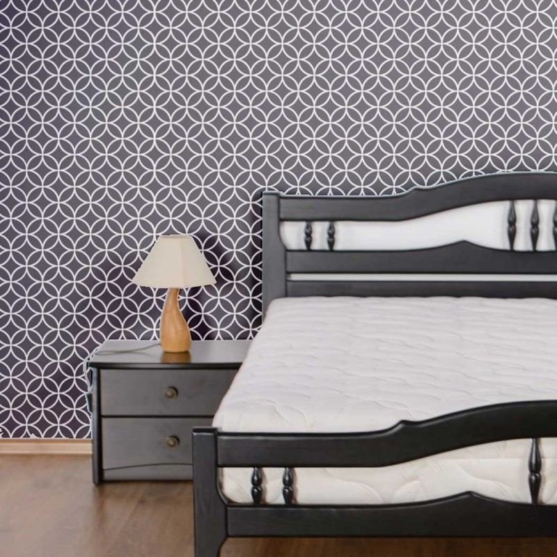 Moroccan Wall Stencil Circle Lattice Stencil Cyclone for Better Homes and DIY project