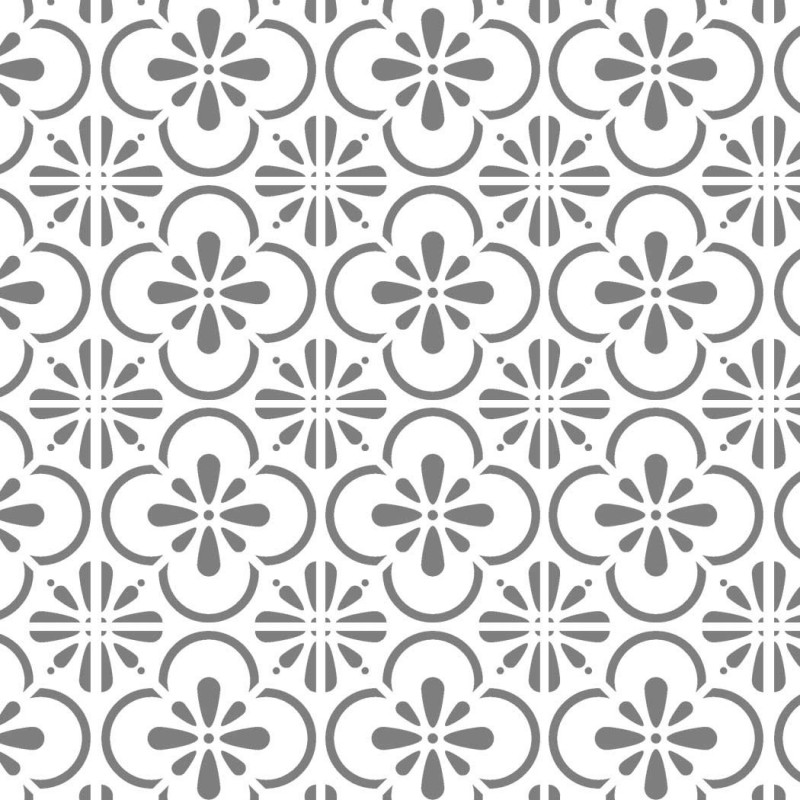 Wall Moroccan Tile Stencil T0055 Reusable Stencils for Painting Art ...
