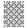 ircle Lattice Stencils -small scale- Template for Crafting Canvas DIY decor