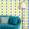 Moroccan reusable Stencil Amber Patterns for decor walls just like wallpaper