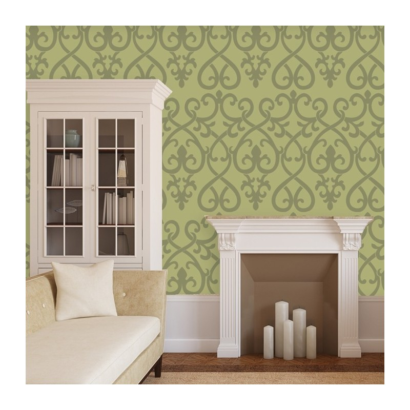 Classic Decorative Wall Stencil Pattern for Wall Room Decor Home Improvements