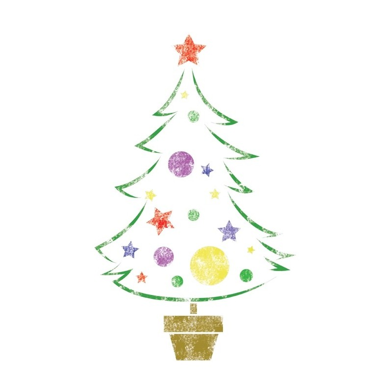 "STENCILS for Painting PATTERN NEW 11.6""X8.26"" Airbrush Template Christmas Tree"