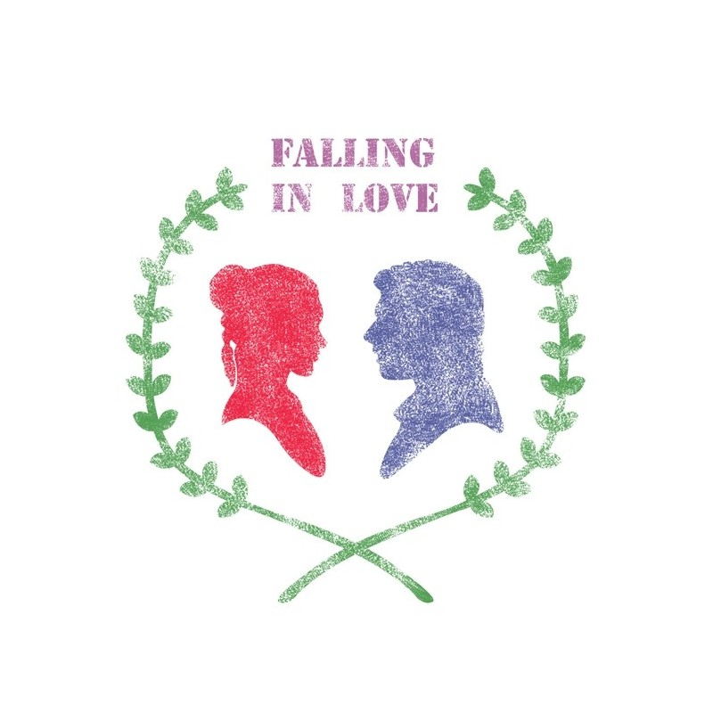 Falling in Love Stencils for Crafting Template DIY Room Decor Wall art furniture