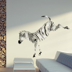 Lovely Wall Stencils Zebra.