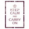 Keep Calm and Carry On Stencil Template for Crafting Walls decor GRAFFITI