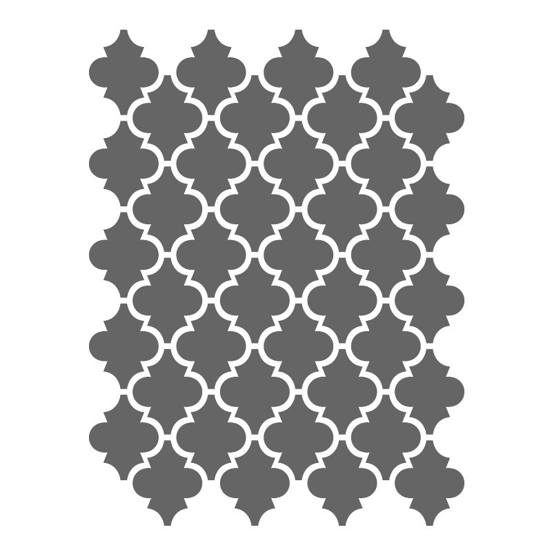 moroccan shapes templates - moroccan stencils template small scale for crafting