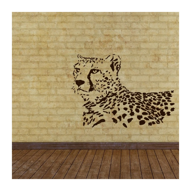 Wall Stencils Leopard Stencil Large Template For Wall Graffiti Canvas Art  DIY