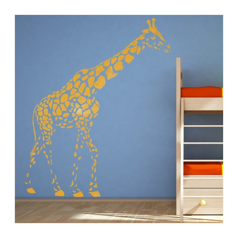 WALL STENCILS King scale Airbrush STENCIL TEMPLATE Giraffe Animal