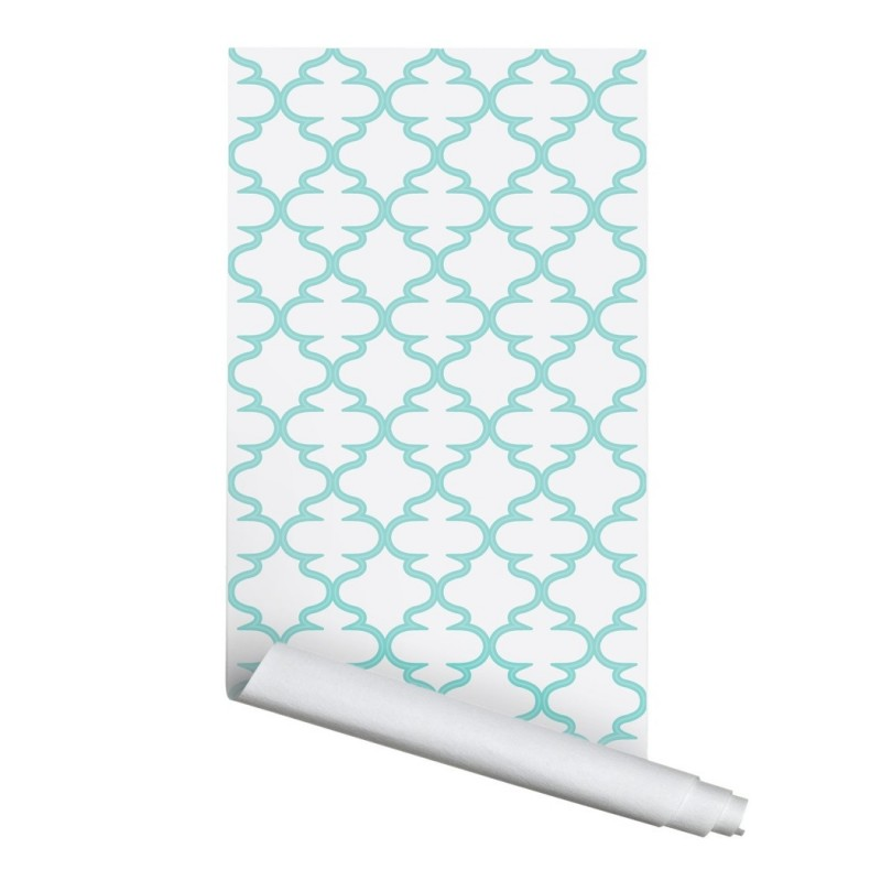 Moroccan Rabat 02 Peel & Stick Repositionable Fabric Wallpaper