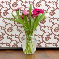 Flower Allover Trellis Wall...