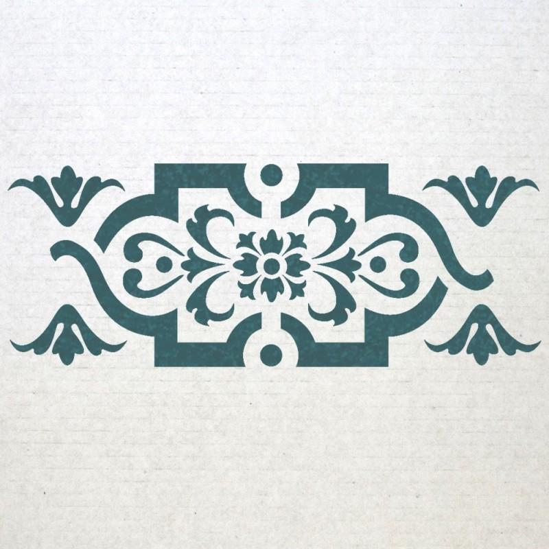 Wall Border Stencils Pattern 013 Reusable Template For Diy Decor