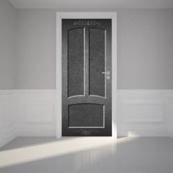 Door Wall Sticker Black...