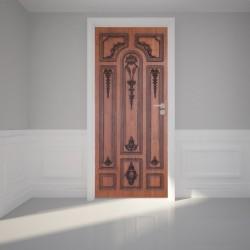 Door Wall Sticker Brown...