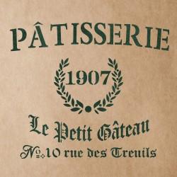 PATISSERIE Stencil for...