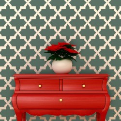 Wall Stencil Large Moroccan...