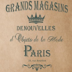 Grands Magasins Stencil for...
