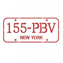 Car Number plate stencil...