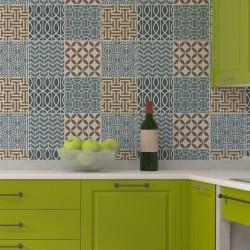 Geometric Tile Stencil Set...