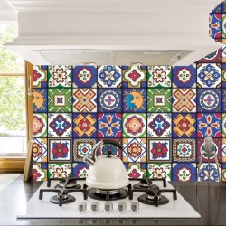 Mexican Tiles Stickers -...