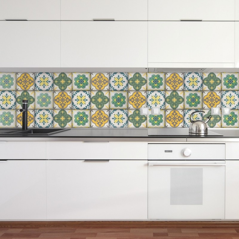 tile decals for kitchen moroccan tiles stickers pack of 16 tiles tile decals 6130