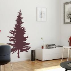Pine Tree Wall Decal, Vinyl...