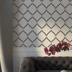Wallpaper Stencil Ananta -...
