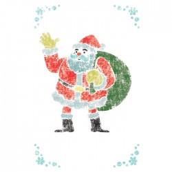 Santa Claus Stencils for...