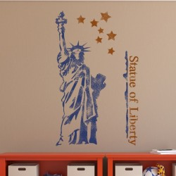 The Statue of Liberty Wall...