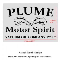 Custom stencil made for justin