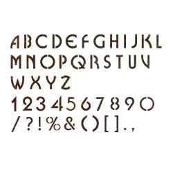 Alphabet Stencil Reusable...