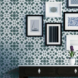 Moroccan Wall Stencil Adorlee Allover Stencil for Wall or Floor Painting