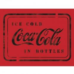 CocaCola in Bottles Stencil...