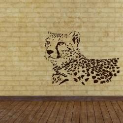 Wall Stencils Leopard...